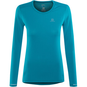 Salomon Agile Running Shirt longsleeve Women teal